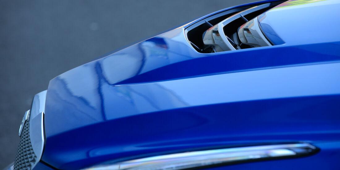 Cadillac ATS-V, Motorhaube