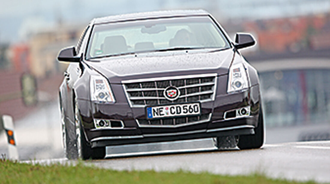 Cadillac CTS 3.6 V6 AWD, Frontansicht