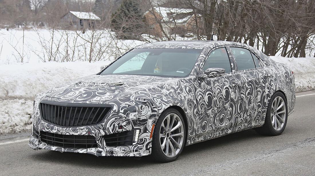 Cadillac CTS-V,Erlkönig,03/2014
