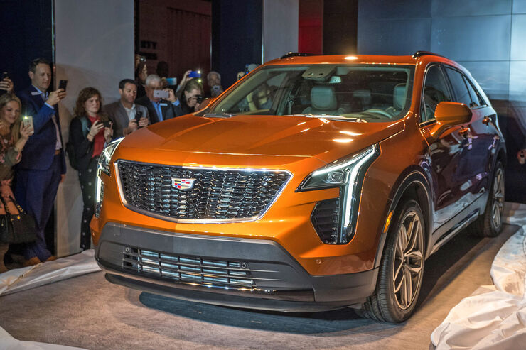 Cadillac XT4 Weltpremiere New York 2018
