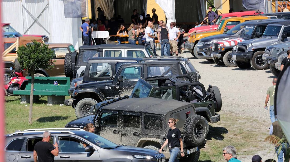 Camp Jeep ITA 2014 in Monte Capuccio