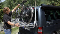 Campingbusse, VW California 3, Fahrradträger
