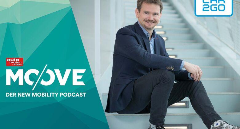 Car2Go-Chef Olivier Reppert im Moove-Podcast