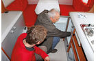 Caravan-Einsteiger, Kühlschrank, Heizung, Herd