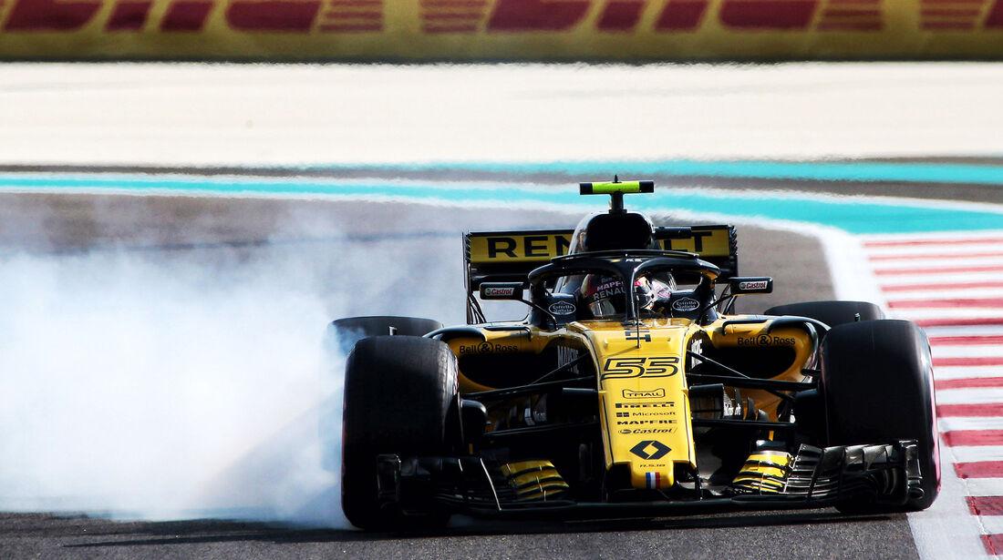 Carlos Sainz - Formel 1 - GP Abu Dhabi 2018