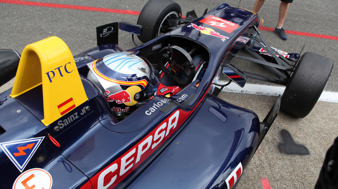 Carlos Sainz - Formel 3 - 2012