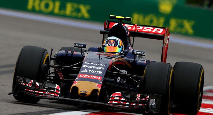 Carlos Sainz - GP Russland 2015
