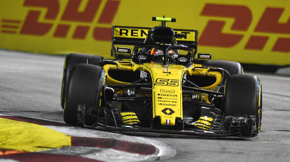 Carlos Sainz - GP Singapur 2018