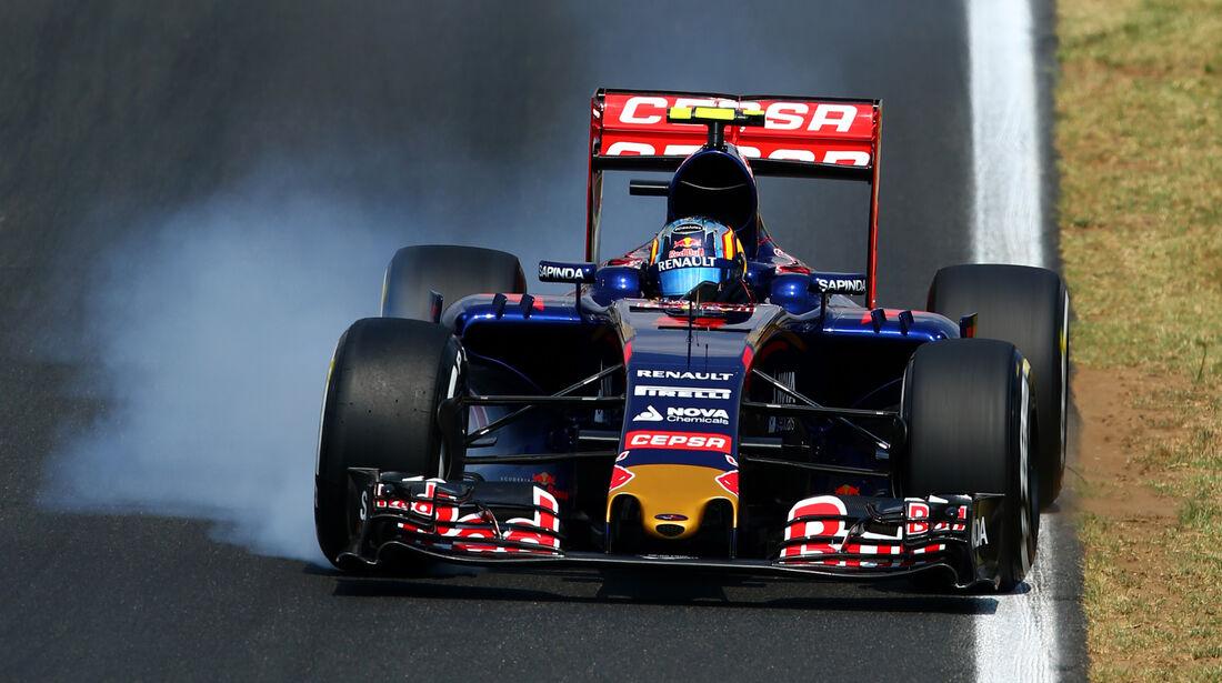 Carlos Sainz - GP Ungarn 2015
