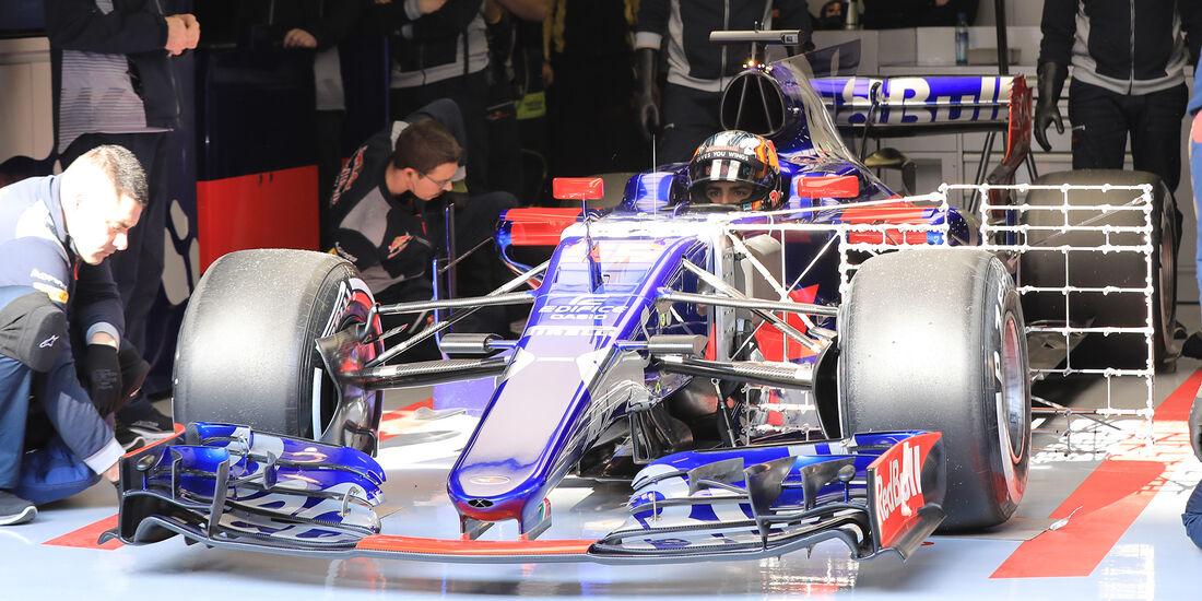 Carlos Sainz Jr. - Toro Rosso - F1-Test - Barcelona - 27. Februar 2017