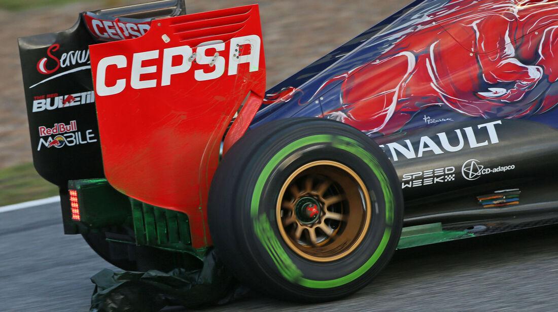Carlos Sainz Jr. - Toro Rosso - Formel 1-Test - Jerez - 3. Februar 2015