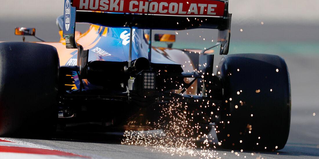Carlos Sainz - McLaren - Barcelona - F1-Test - 01. März 2019