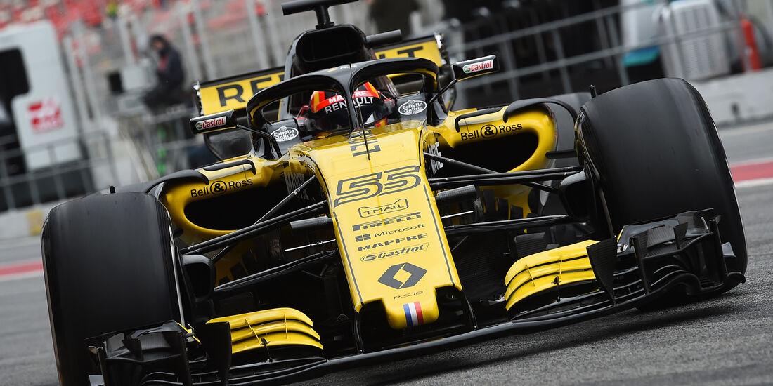 Carlos Sainz - Renault - Barcelona F1-Test 2018 - Tag 1
