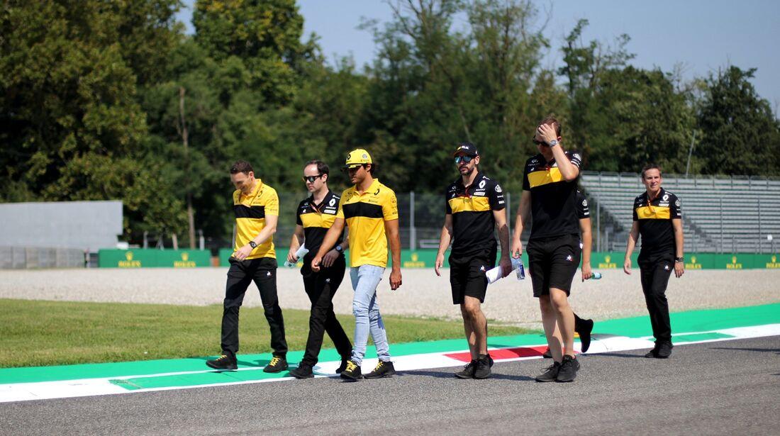 Carlos Sainz - Renault - Formel 1 - GP Italien - 30. August 2018
