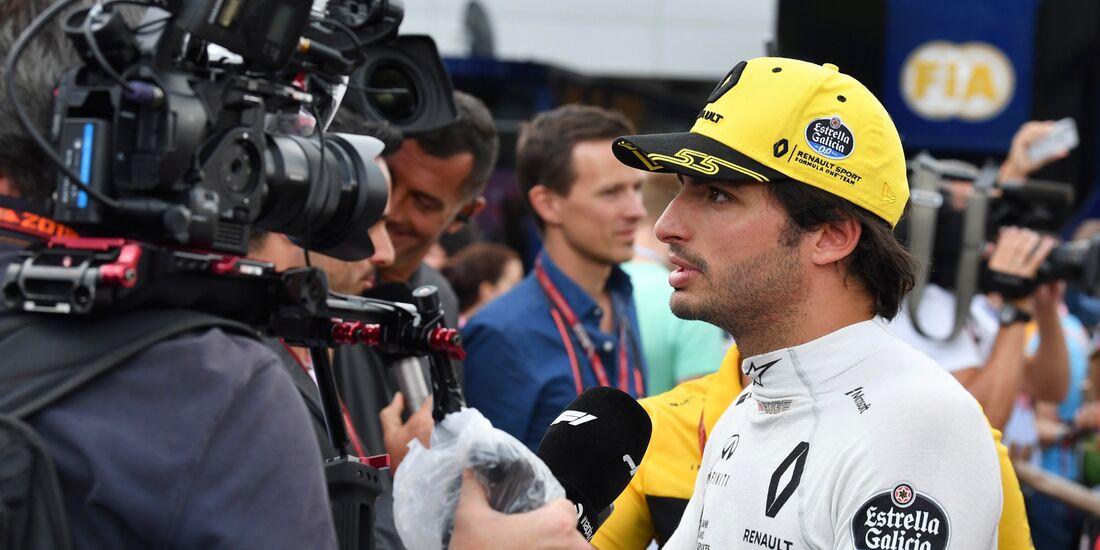 Carlos Sainz - Renault - Formel 1 - GP Österreich - 30. Juni 2018