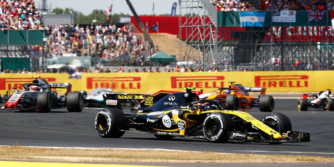 Carlos Sainz - Renault - GP England 2018 - Silverstone - Rennen