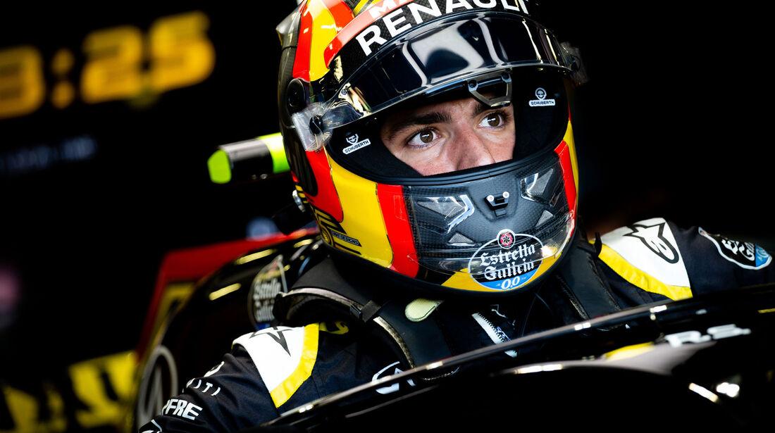 Carlos Sainz - Renault - GP England - Silverstone - Formel 1 - Samstag - 7.7.2018