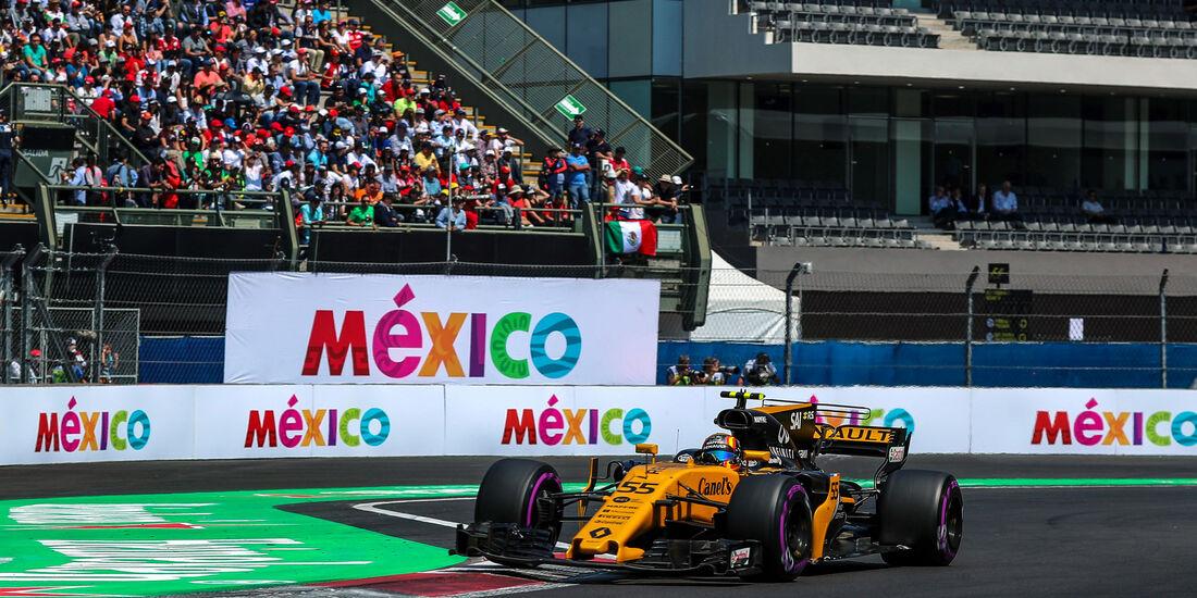 Carlos Sainz - Renault - GP Mexiko 2017 - Qualifying
