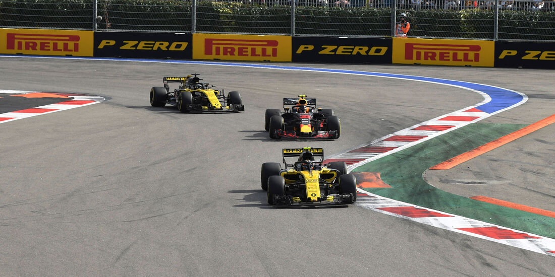 Carlos Sainz - Renault - GP Russland 2018 - Sotschi - Rennen