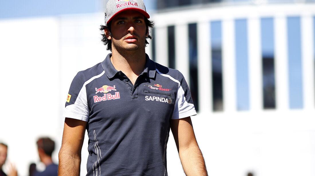 Carlos Sainz - Toro Rosso - Formel 1 - GP Belgien - Spa-Francorchamps - 25. August 2016