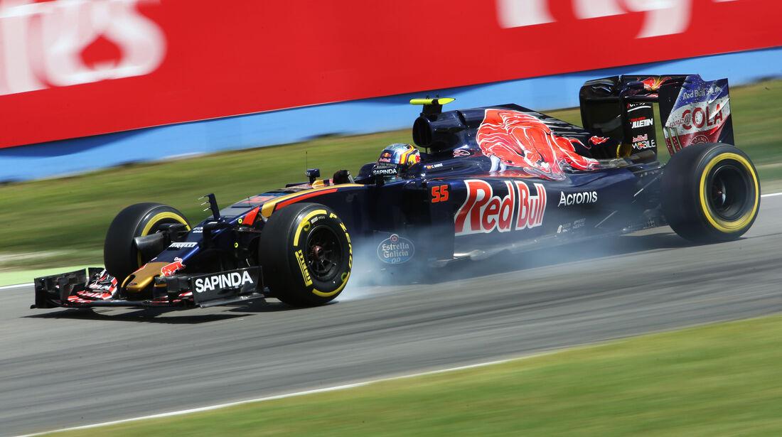 Carlos Sainz - Toro Rosso - Formel 1 - GP Deutschland - 29. Juli 2016