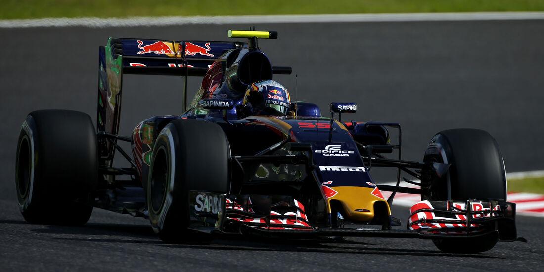 Carlos Sainz - Toro Rosso - Formel 1 - GP Japan - Suzuka - Freitag - 7.10.2016