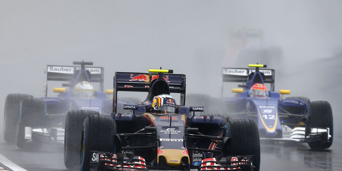 Carlos Sainz - Toro Rosso - Formel 1 - GP Ungarn - 23. Juli 2016
