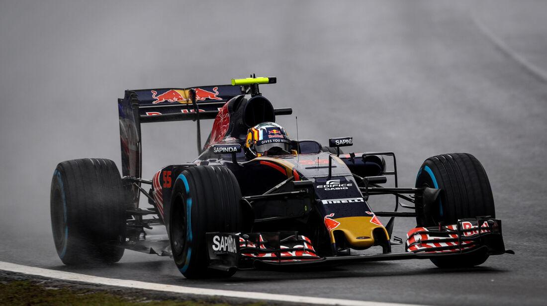 Carlos Sainz - Toro Rosso - GP Brasilien 2016 - Interlagos - Rennen