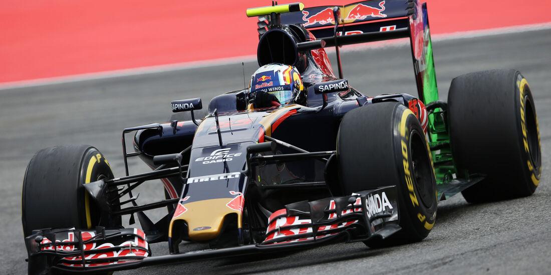 Carlos Sainz - Toro Rosso - GP Deutschland - Formel 1 - 29. Juli 2016