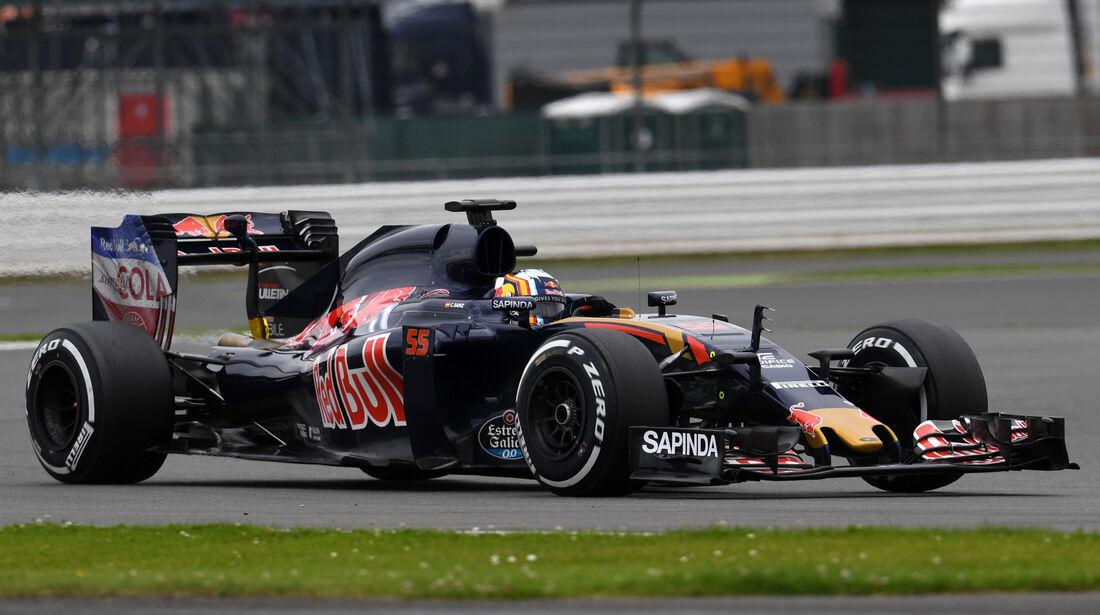 Carlos Sainz - Toro Rosso - Silverstone-Test - 12- Juli 2016