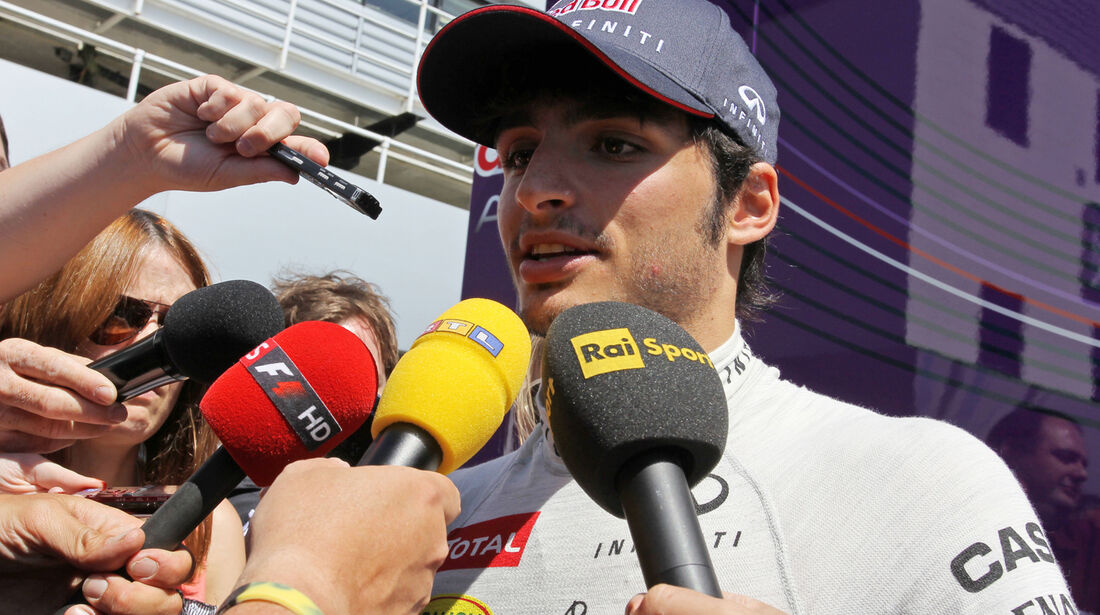 Carlos Sainz - Young Drivers Test - Silverstone - 2013