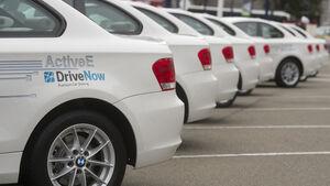 """Carsharing-Angebote wie """"DriveNow"""" von BMW werden in den kommenden Jahren immer stärker nachgefragt."""
