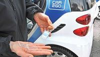 Carsharing, Car2go, Schlüssel