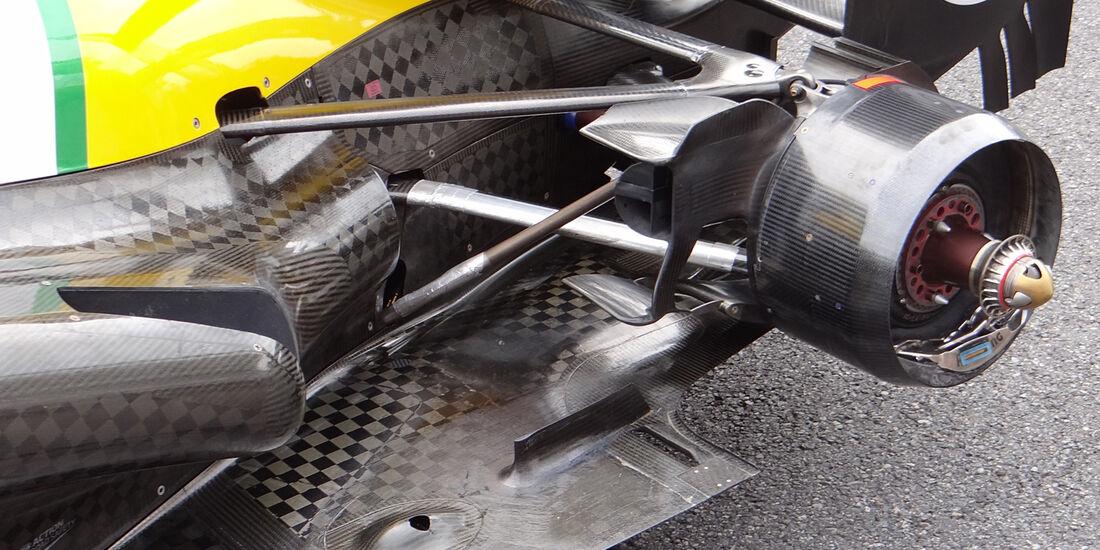 Caterham - Auspuff - Formel 1 2013