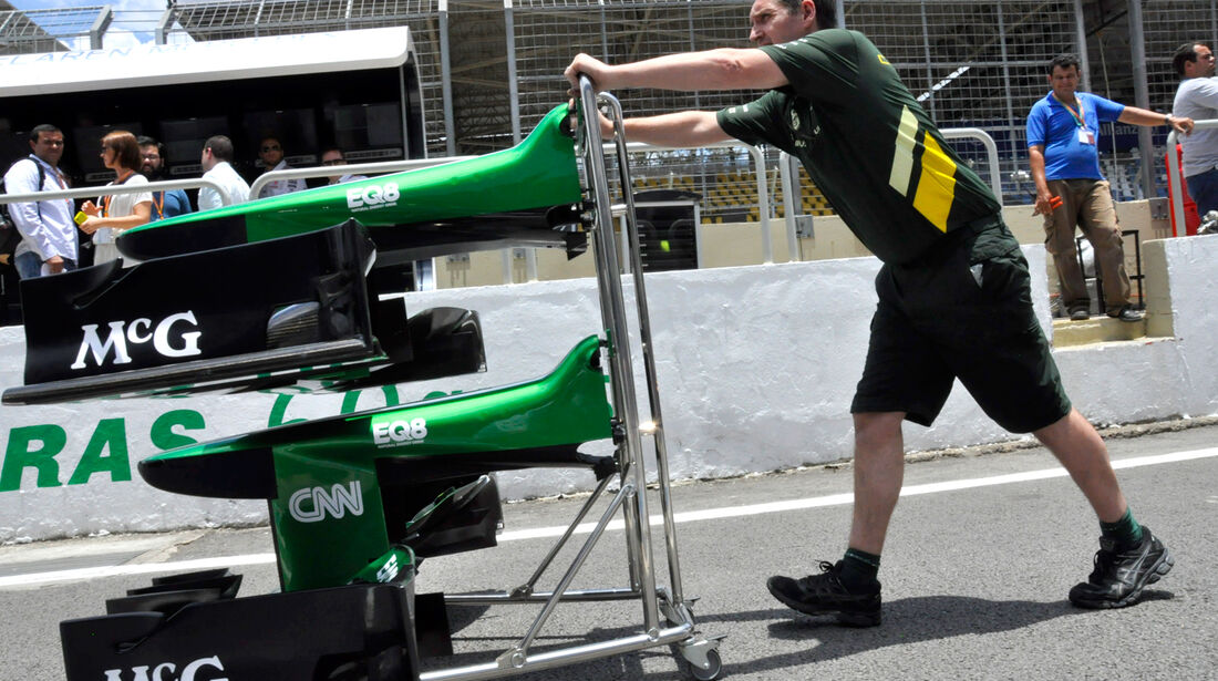 Caterham - Formel 1 - GP Brasilien - 21. November 2013