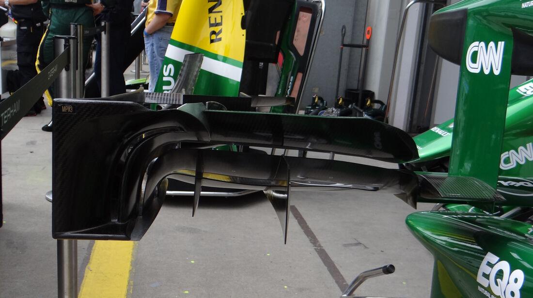 Caterham - Formel 1 - GP Deuschland - 5. Juli 2013