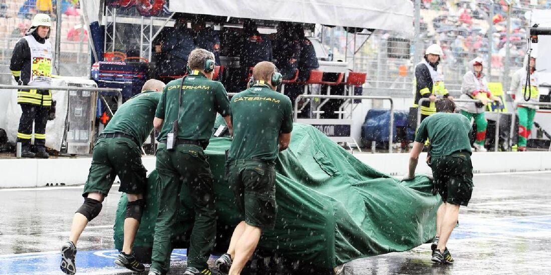 Caterham - Formel 1 - GP Deutschland - 21. Juli 2012
