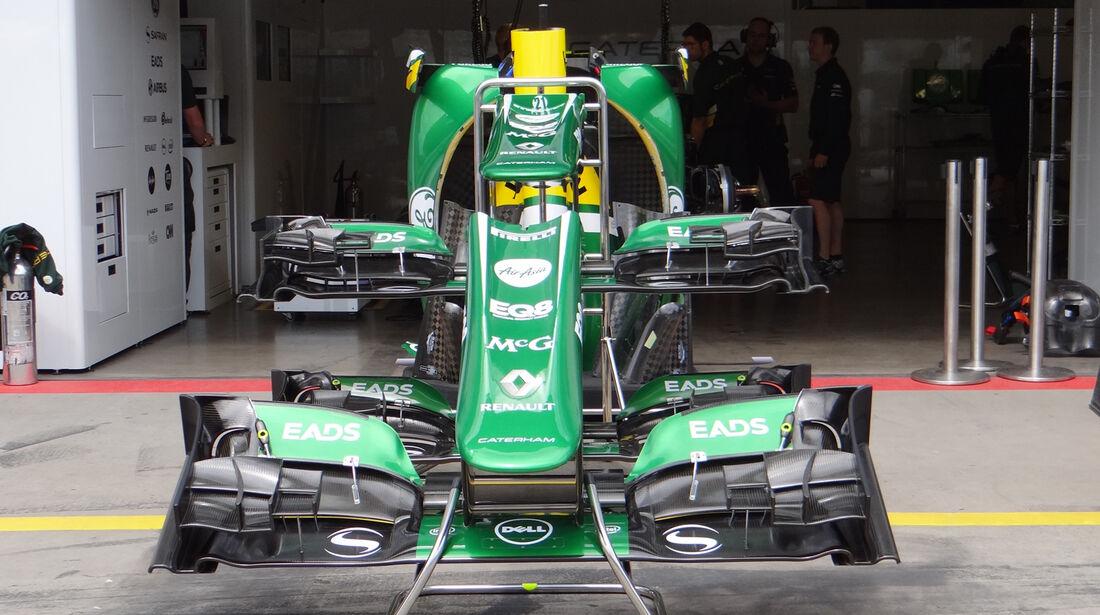 Caterham - Formel 1 - GP Deutschland - 4. Juli 2013