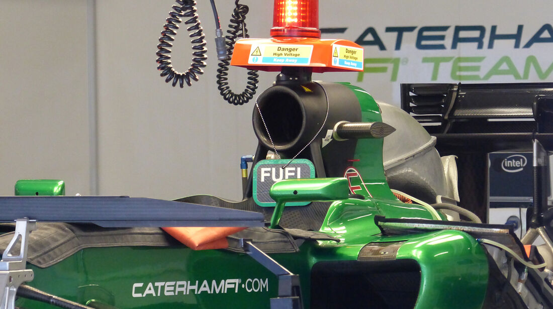 Caterham - Formel 1 - GP Russland - Sochi - 9. Oktober 2014