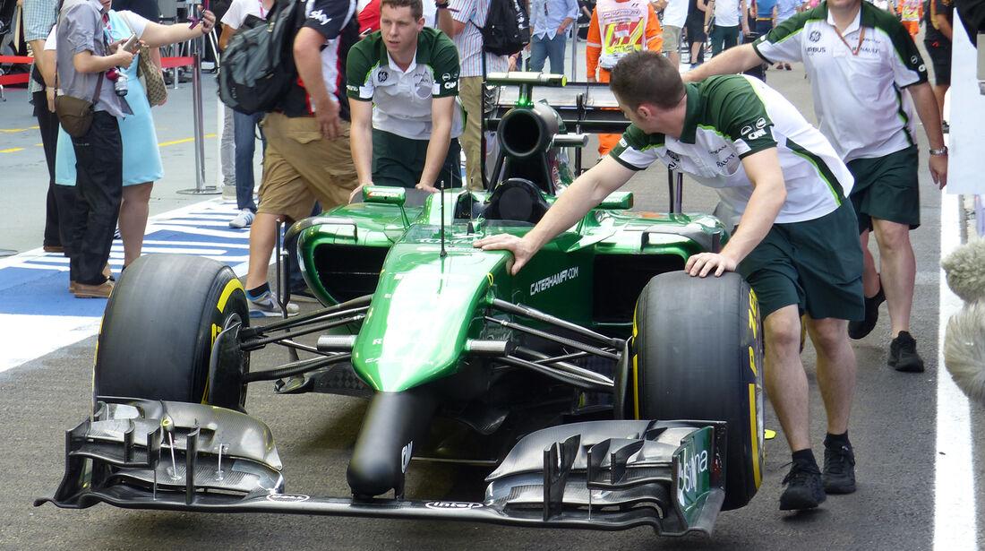 Caterham - Formel 1 - GP Singapur - 19. September 2014