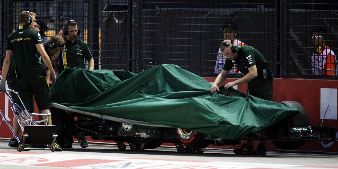 Caterham - Formel 1 - GP Singapur - 22. September 2012