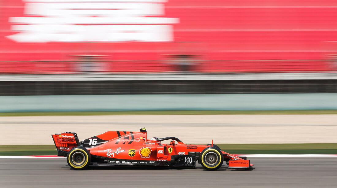 Charles Leclerc - Ferrari - GP China - Shanghai - Fórmula 1 - Viernes - 12.4.2019