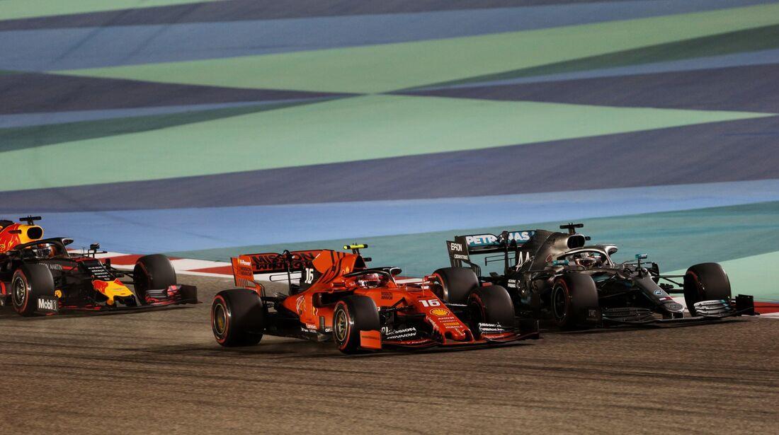 Charles Leclerc - Lewis Hamilton - Formel 1 - GP Bahrain - 31. März 2019