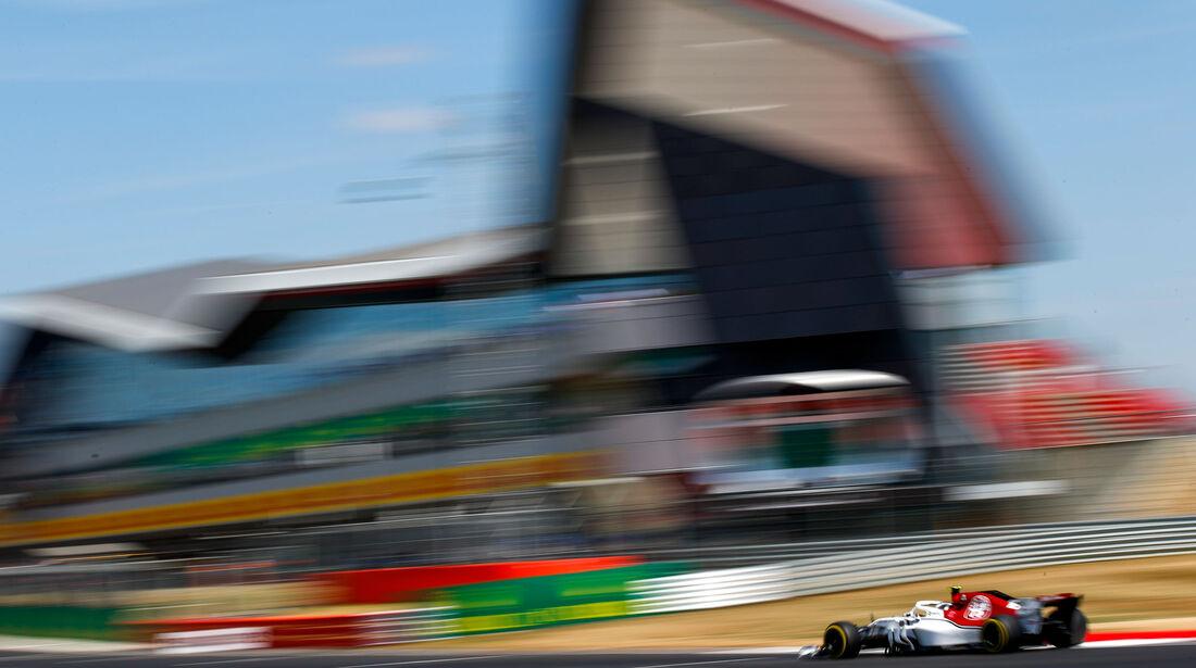 Charles Leclerc - Sauber - GP England - Silverstone - Formel 1 - Samstag - 7.7.2018