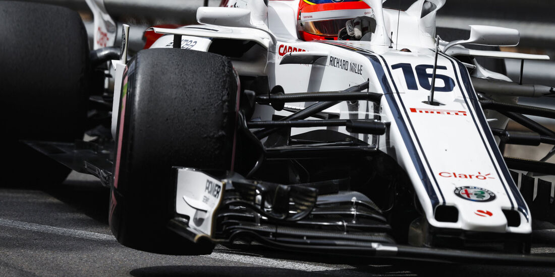 Charles Leclerc - Sauber - GP Monaco 2018