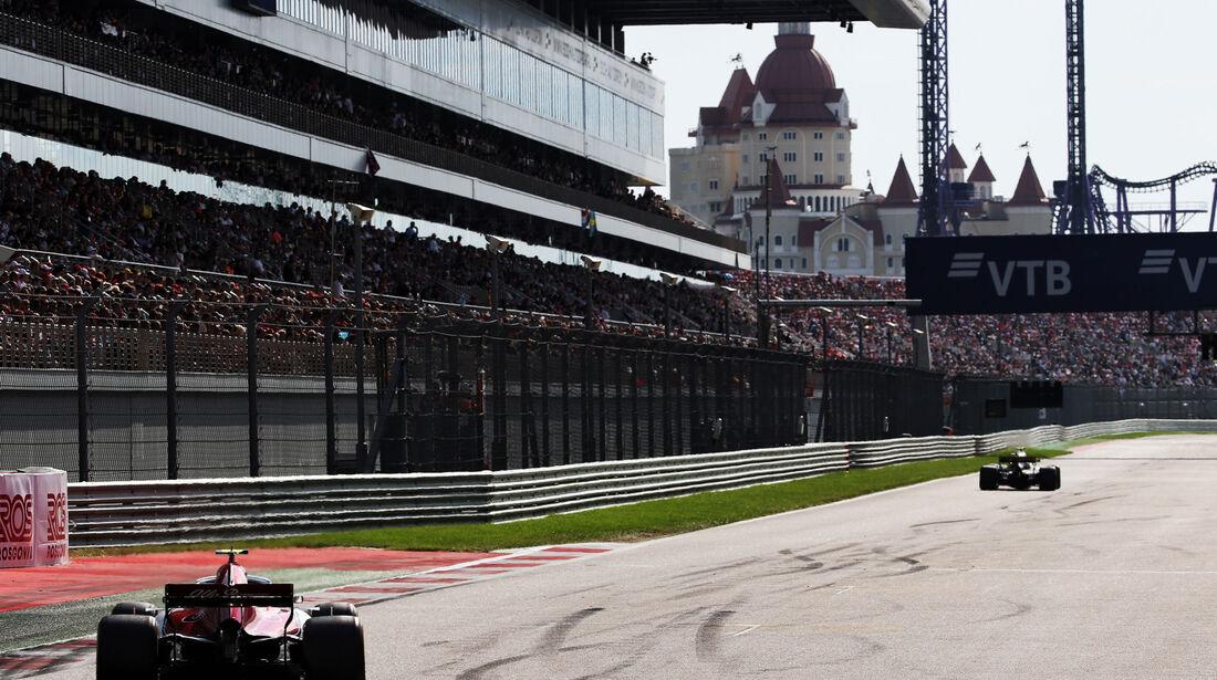 Charles Leclerc - Sauber - GP Russland 2018 - Sotschi - Rennen