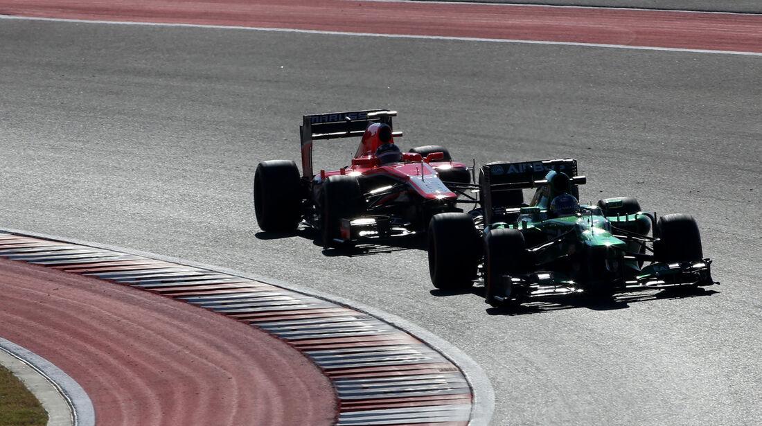 Charles Pic - Caterham - Formel 1 - GP USA - 15. November 2013
