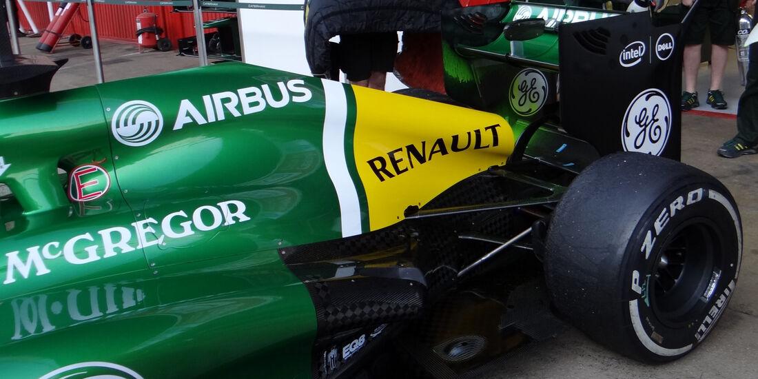 Charles Pic - Caterham - Formel 1 - Test - Barcelona - 20. Februar 2013