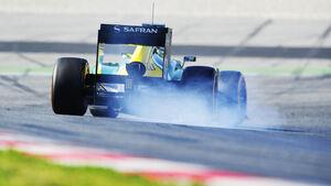 Charles Pic, Caterham, Formel 1-Test, Barcelona, 20. Februar 2013