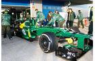 Charles Pic - Caterham - Formel 1 - Test - Jerez - 8. Februar 2013